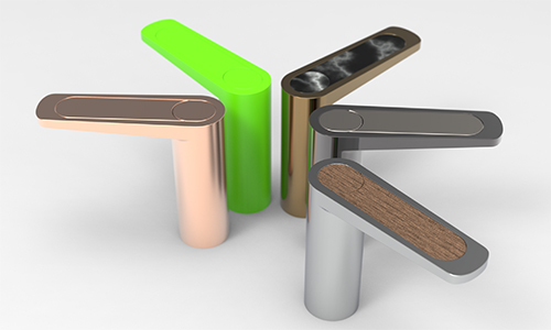 Product render showing colour ways