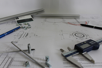 Technical drawing for manufacture