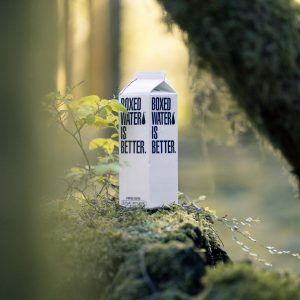 Sustainable boxed water
